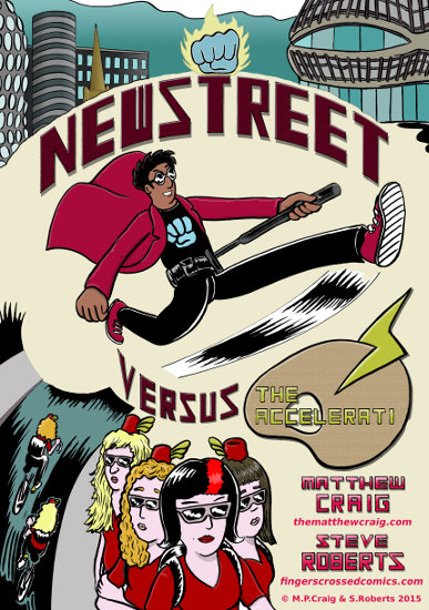 Click here to visit my Comicsy store and buy a copy of NEWSTREET!